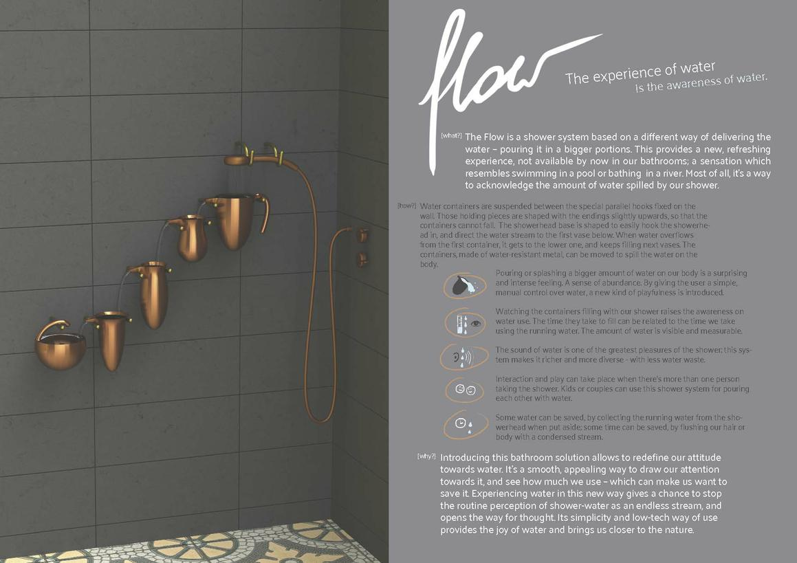 Flow shower system - the experience of water-1
