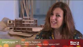 Interview with Benedetta Tagliabue – Director of EMBT Miralles Tagliabue