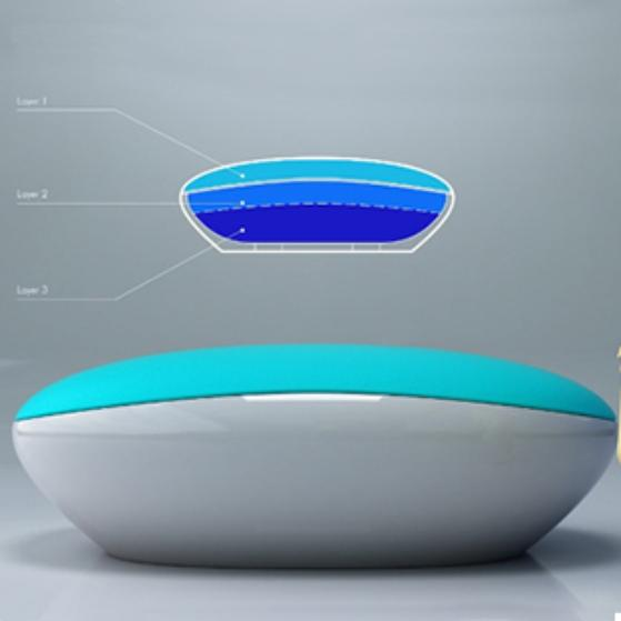 Breathing bathtub