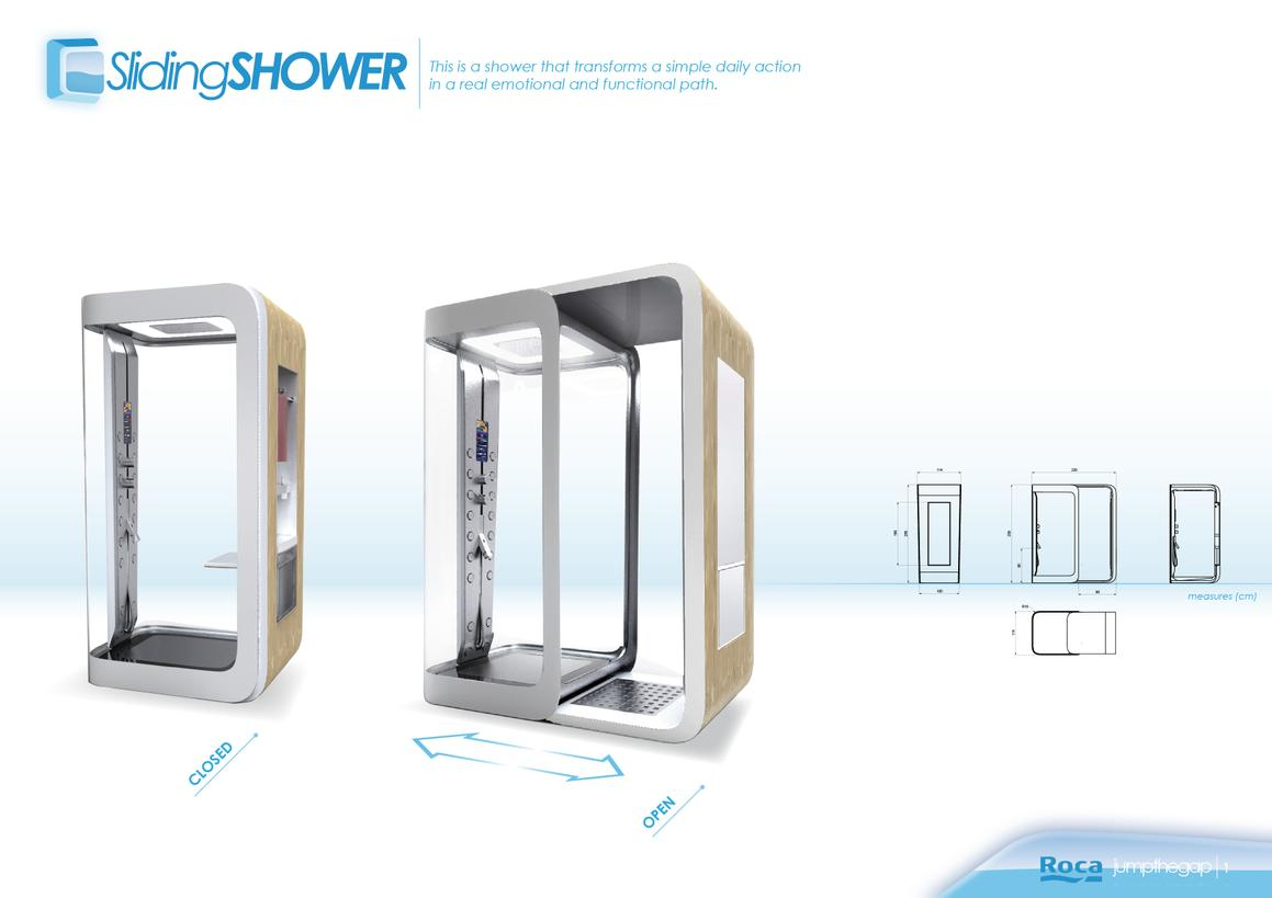 Sliding shower 1