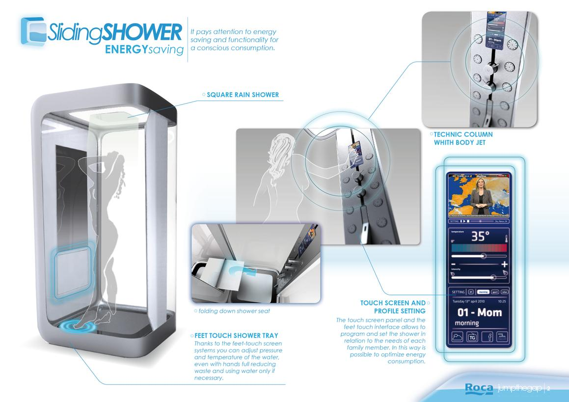 Sliding shower 2