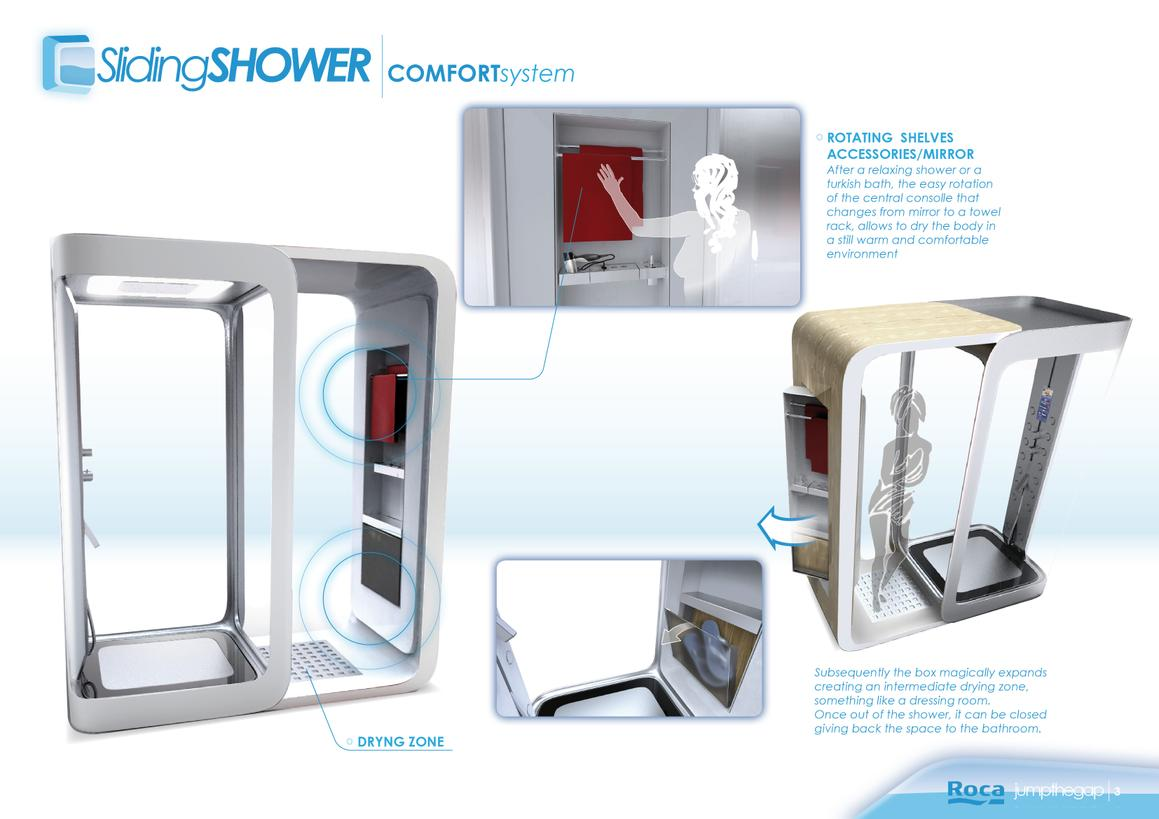 Sliding shower 3