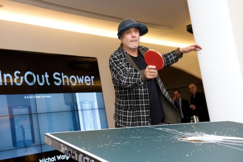 Ron Arad and Javier Mariscal Jumped the Gap Playing Ping Pong in a Successful Award Ceremony Full of Surprises